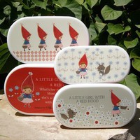 Little Red 4 Piece Lunch Box ? Omiyage - simply charming things from Japan!