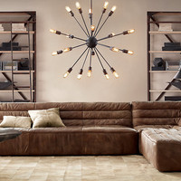 Sputnik Filament Chandelier Large