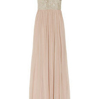 Rachel Gilbert|Ashleigh embellished silk-chiffon gown|NET-A-PORTER.COM