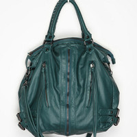 Deena &amp; Ozzy Zip-Front Moto Satchel