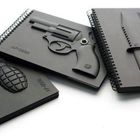 Grenada Knife Revolver Notebook - Office Supplies - Home&Decor