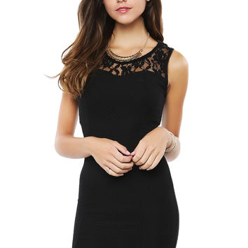 Lacy Bodycon Drdss