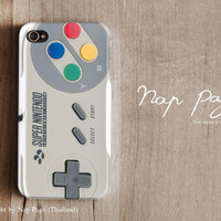 iPhone 4 case , iPhone 4s case and iPhone 3gs case mobile Case handmade : Nintendo Controller