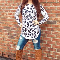 Take A Back Road Tunic Top - Ivory