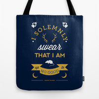 I Solemnly Swear Tote Bag by Dorothy Timmer