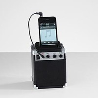 amp style retro speaker from RedEnvelope.com