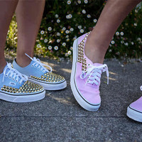 vans authentics with studs