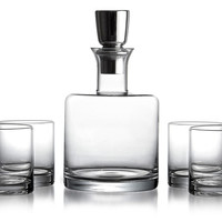 5-Pc Whiskey Set, Clear, Cordial, Liqueur & Brandy
