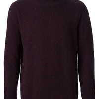 Paul Smith speckled roll neck sweater
