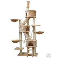 GoPetClub &quot;Jungle GYM&quot; Cat Tree Furniture Condo Bed House Pet Scratcher Post FC1