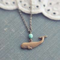baleine necklace.