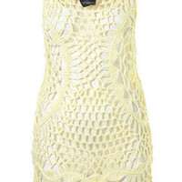 Crochet Vest Cover Up - Cover Ups