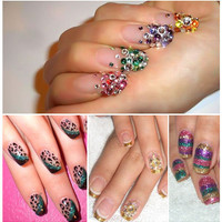 Tooth &amp; Nail (Art) Collage Nails ?