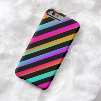 Neon Stripes iPhone 6 Case