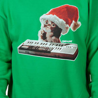 Santa Hat Gizmo Faux Ugly Christmas Sweater