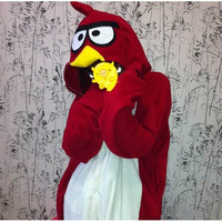 Angry Birds Lovely Cartoon Kigurumi Costume [TQL120329009] - £31.19 : Zentai, Sexy Lingerie, Zentai Suit, Chemise