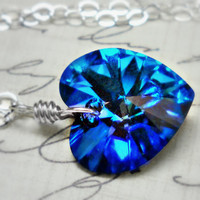 Blue Velvet   Swarovski Crystal Sterling by ClassicKeepsakes