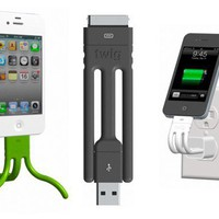 Twig iPhone Cable — Gadgets -- Better Living Through Design