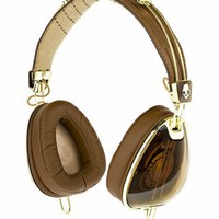 Skullcandy X Roc Nation Aviator Headphones - Brown Gold - Punk.com