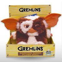 Sing &amp; Dance Gremlins Gizmo Doll - Fully-licensed singing Gizmo gremlin plush doll from the movie