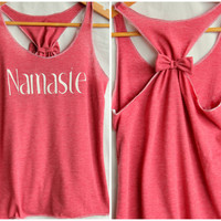 Namaste Racerback Workout Tank- Small