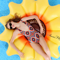 Sunflower Pool Float