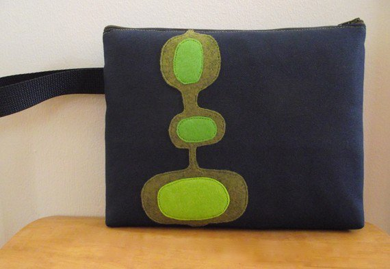 Science Secret Cosmetic Pouch/Wristlet/Clutch by majkatree on Etsy
