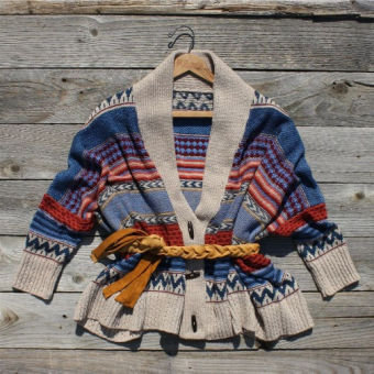 Navajo Sunset Sweater, Sweet Country Women's Clothing
