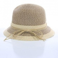 STRAW CLOCHE HAT @ KiwiLook fashion