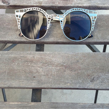 Half Caged Sunnies – Gold Soul