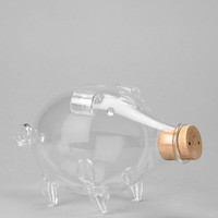Blown Glass Piggy Bank