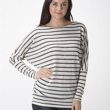 Dark Oatmeal Stripe Top