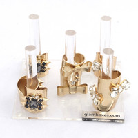 GLAMboxes Lucite Ring Holder Set-Limited Edition