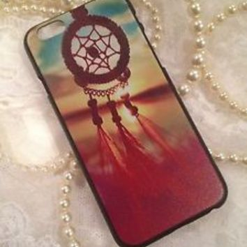 iPhone 6 4.7 Case Cover Pink Blue Boho Red Tribal Dream Catcher Colorful Designs