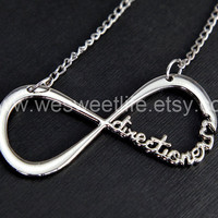 "One Direction Infinity Necklace forever ""Directioner"" Infinite 1D Boy Band"