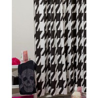 Houndstooth Fairy Shower Curtain