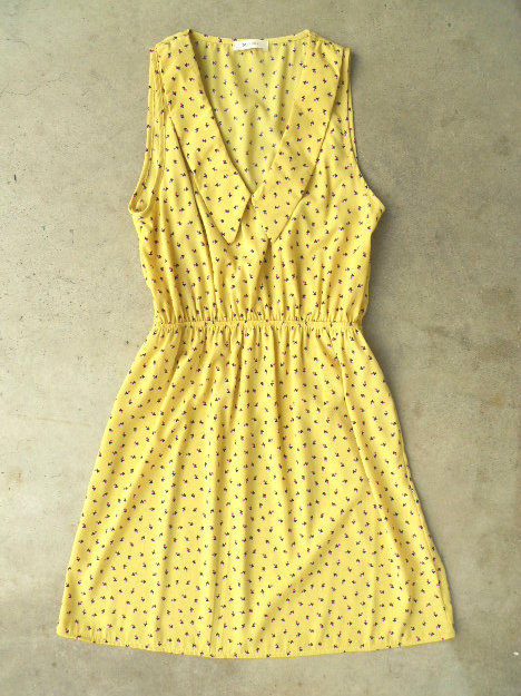 Flowers in the Sun Dress [3079] - $36.00 : Vintage Inspired Clothing &amp; Affordable Summer Dresses, deloom | Modern. Vintage. Crafted.