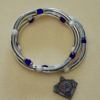 Baseball fan bracelet -- New York Yankees