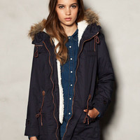 FUR LINED PARKA - NEW PRODUCTS - WOMAN -  United Kingdom