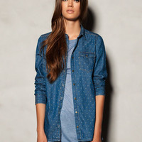 PRINTED DENIM SHIRT - NEW PRODUCTS - WOMAN -  United Kingdom