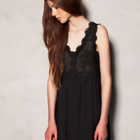 DRESS WITH CROCHET BODICE - MUST HAVE - WOMAN -  United Kingdom
