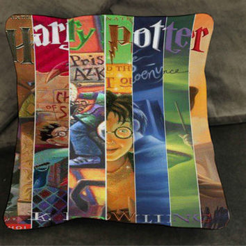 all cover books hary potter pillow case custom zippered pillow case one side and two sides