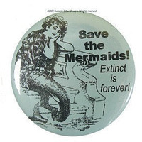 Save the Mermaids Magnet