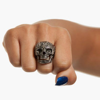 Ana Maria Skull Ring $12