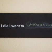 Before I die I want to | Colossal