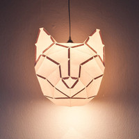 Cat - do it yourself paper lampshade