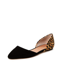 Candy D'Orsay Pointed Toe Flat