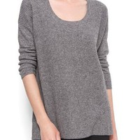 MANGO - NEW! - Oversize ribbed jumper