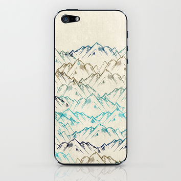 Mountains iPhone & iPod Skin by rskinner1122 | Society6