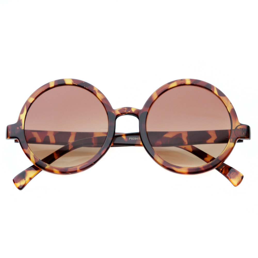80&#x27;s - audrey vintage frame oversized circle sunglasses - 80&#x27;s | 80&#x27;s Purple